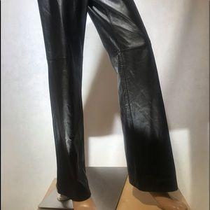 LOFT   Leather Pants